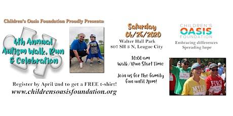4th Annual Autism Walk/Run & Celebration tickets