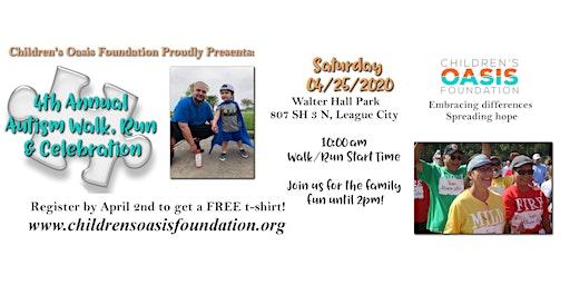 4th Annual Autism Walk/Run & Celebration