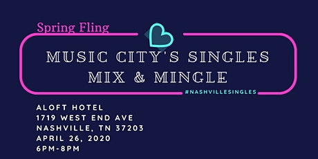Music City's  Singles  Mix & Mingle tickets