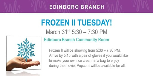 Frozen II Tuesday!