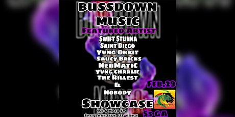 BussDown Music Showcase tickets