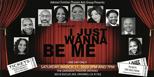 I Just Wanna Be Me Stage Play