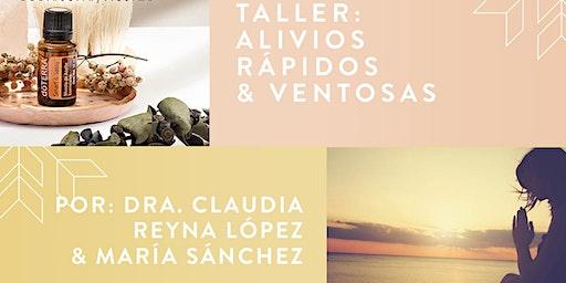 TALLER DE ALIVIOS RAPIDOS Y VENTOSAS