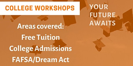 Sacramento College Ready Workshops tickets