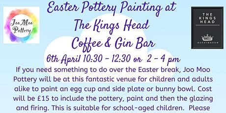 Easter Pottery Painting Workshop tickets