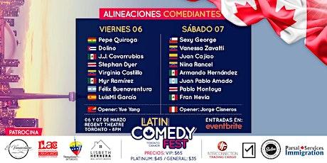 Latin Comedy Fest 2020 | Día 1 tickets