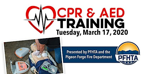 CPR/AED Training - Provided by the Pigeon Forge Fire Department