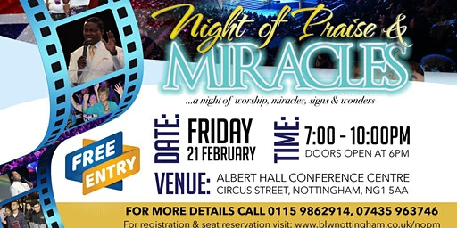 Night of Praise and Miracles