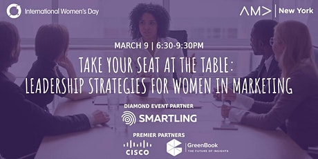 Take Your Seat at the Table: Leadership Strategies for Women in Marketing tickets