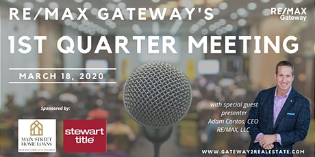 RE/MAX Gateway's 1st Quarter Meeting 2020 tickets