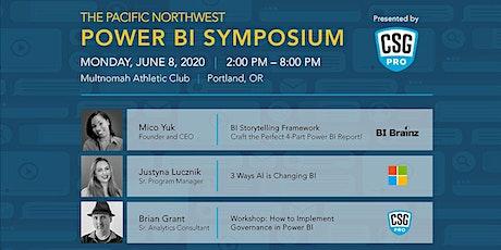 Pacific Northwest Power BI Symposium tickets