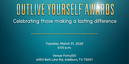 The Outlive Yourself Awards