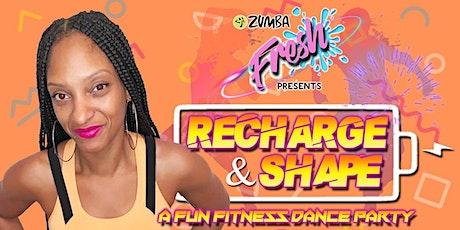 Zumba Fresh - Recharge & Shape tickets