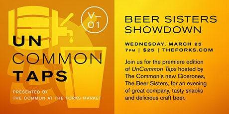 UnCommon Taps V01: Beer Sisters Showdown tickets