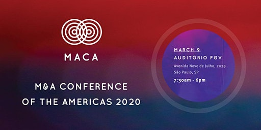 "M&A Conference of The Americas 2020  - ""MACA 2020"""