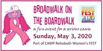 "BROADWALK ON THE BOARDWALK 2020 DONATE BY CLICKING ""REGISTER"""