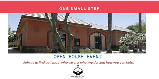 One Small Step Open House