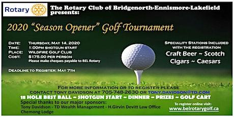 "2020 ""Season Opener"" Golf Tournament tickets"
