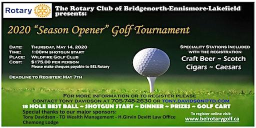 "2020 ""Season Opener"" Golf Tournament"
