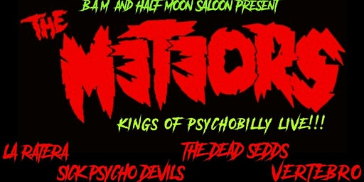 The Meteors (UK) Kings of Psychobilly Live!