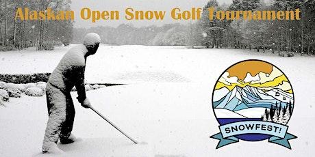 Snowfest Alaskan Open Snow Golf Tournament tickets