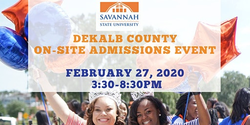 Dekalb County On-Site Admissions Event