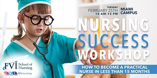 Nursing Success Workshop (PN) - How to become Nurse Ready in less than 15 months!