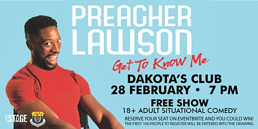Preacher Lawson: Get to Know Me - at Ellsworth AFB