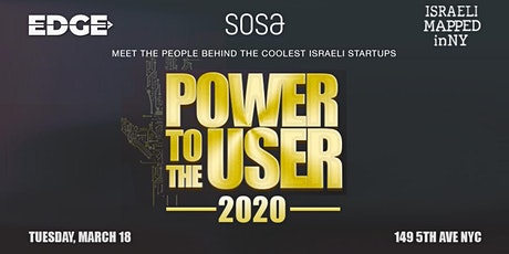 IAC EDGE & SOSA NYC: Power to the User 2020 tickets