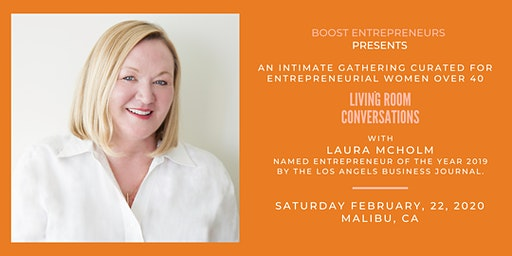 LIVING ROOM CONVERSATIONS  for Entrepreneurial Women over 40