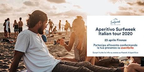 Aperitivo itinerante Surfweek Firenze biglietti