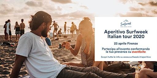 Aperitivo itinerante Surfweek Firenze