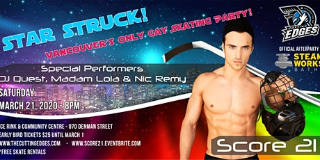 Score 21 - Vancouver's Only Gay Skating Party tickets