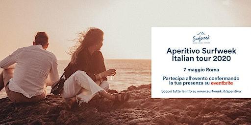 Aperitivo itinerante Surfweek Roma