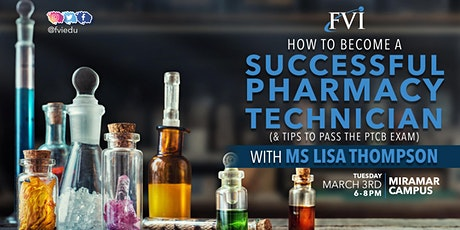 How to become a successful Pharmacy Technician with Lisa Thompson tickets