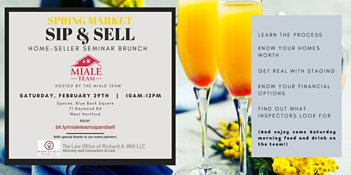 The Miale Team Spring Market Sip and Sell-Keys to Selling Your Home
