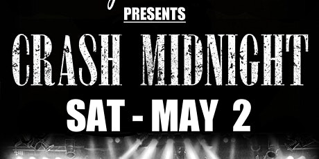 CRASH MIDNIGHT  with The Mad Rabbits,  Mojave Sun and Incarnate tickets