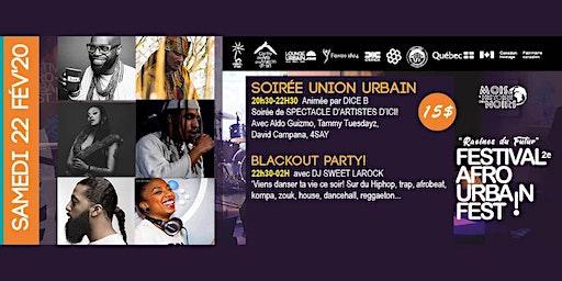 Soirée Union Urbain - Festival Afro urbain 2020