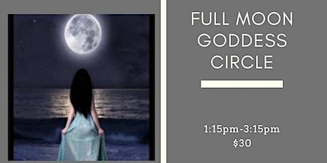 Full Moon Goddess Circles tickets