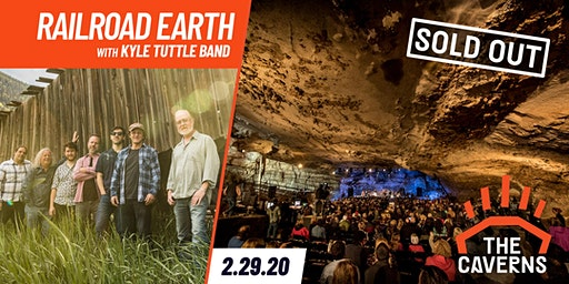Railroad Earth in The Caverns with Kyle Tuttle Band