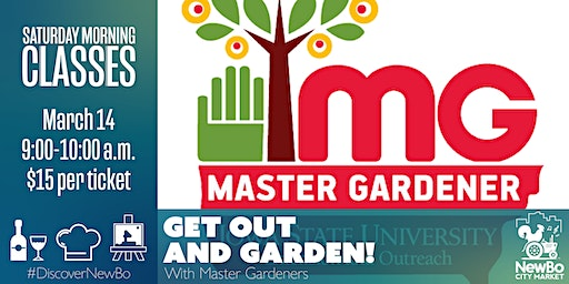 Saturday Morning Class: Get Out and Garden!