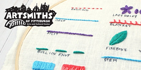 Intro into Embroidery with Michelle Quallich Lancet tickets
