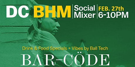 DC Professionals: Black History Month Social Mixer tickets