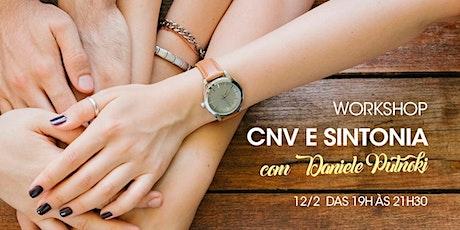 CNV e Sintonia ingressos