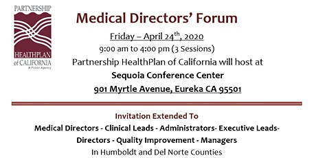 2020 Spring Regional Medical Directors Meeting - Eureka tickets