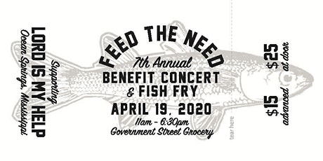 2020 7th Annual Feed the Need  tickets