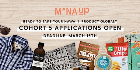 Mana Up Cohort 5 Info Session tickets