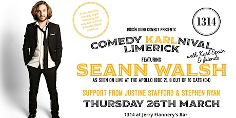 Comedy KARLnival Limerick tickets