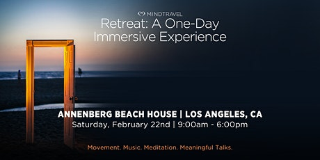 The MindTravel One-Day Retreat tickets