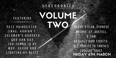 Synchroniz3 Volume Two tickets